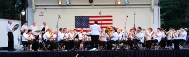 The Sound Beach Community Band consists of 40 local musicians that play a number of different songs.