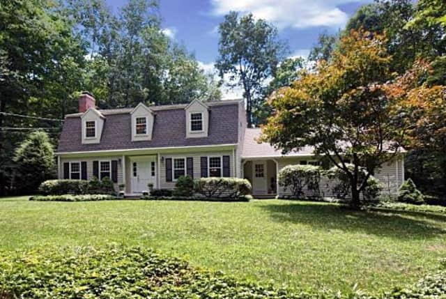 This home at 3 Standish Drive in Ridgefield sold for $755,000 and is listed as having a gourmet kitchen, sports court and brick fireplace.