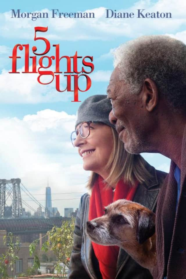 "The Mamaroneck Public Library is showing ""5 Flights Up"" at 11 a.m. Thursday."