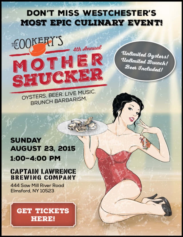 The Fourth Annual Mother Shucker will be held Aug. 23 in Elmsford.