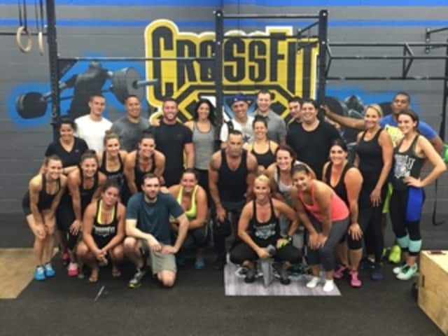 Cross Fit XT of Hawthorne helped raise money for a three-year-old fighting cancer.