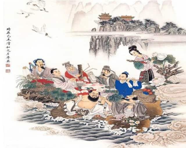 """Eight Immortals Crossing the Sea"""