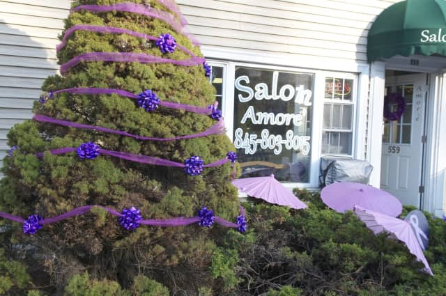 The Town of Ridgefield will be covered in purple for a good cause later this month.