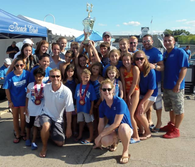 The Lake Isle Swimming and Diving team from Eastchester won the 90th annual Westchester County championship.