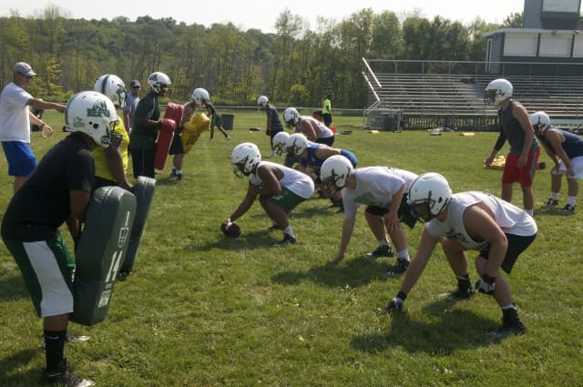 While some professional sports teams are slowly ramping up to potentially start playing games in the fall, high school sports will remain on pause in New York due to the COVID-19 outbreak.