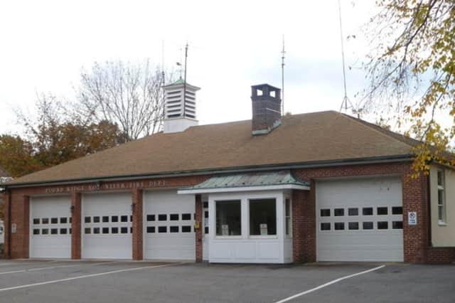 The Pound Ridge firehouse