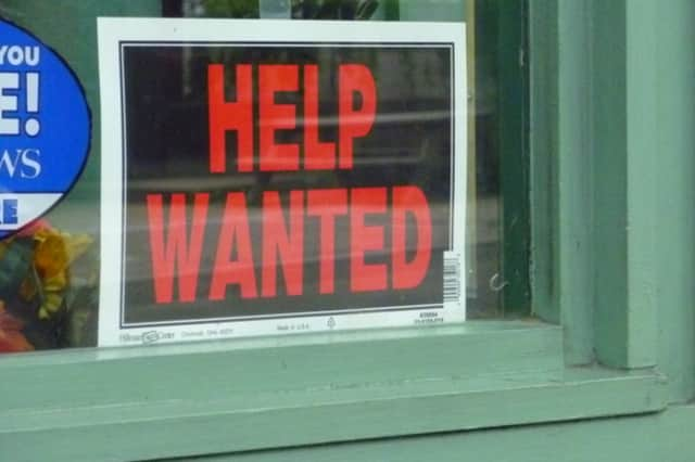 Many jobs are available in Mamaroneck and Larchmont.