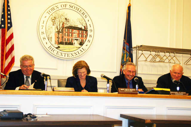 The Somers Town Board discussed the budget at Thursday's meeting.