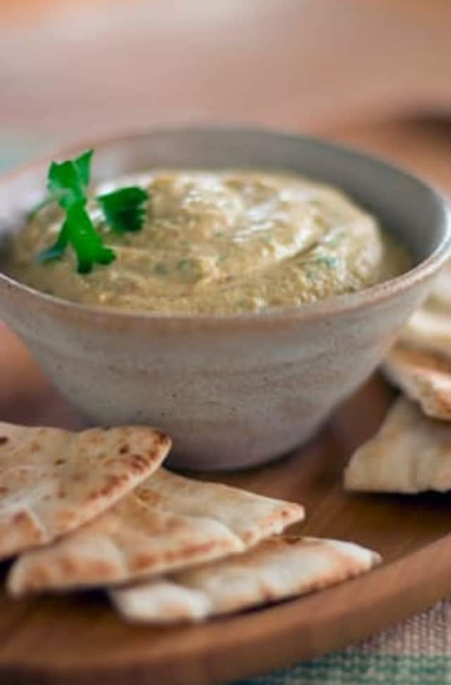 Dishes such as hummus, falafel, and tzatziki offer flavor and nutrition without the meat.