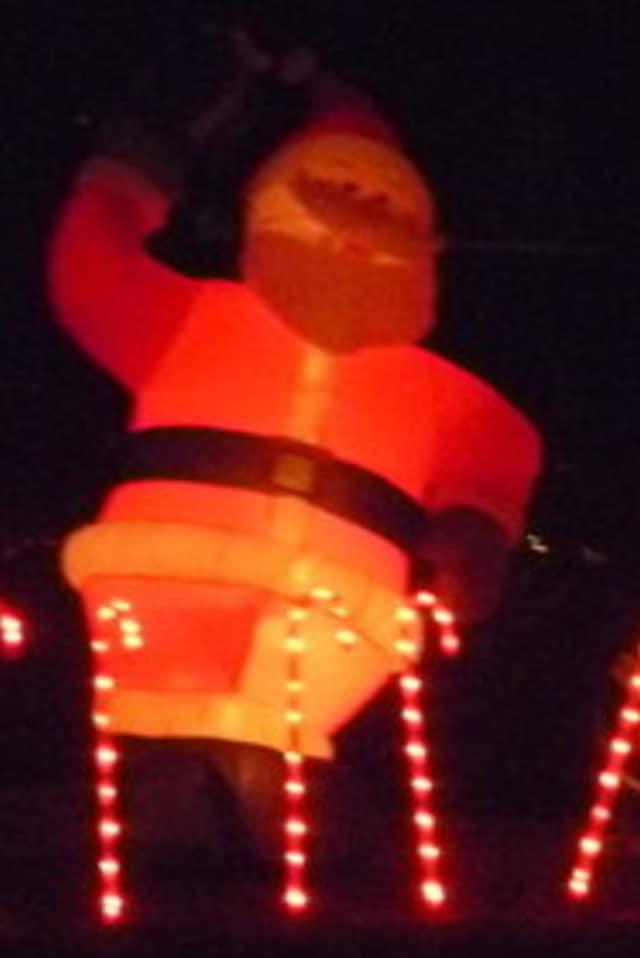 We found this Santa in Tarrytown.