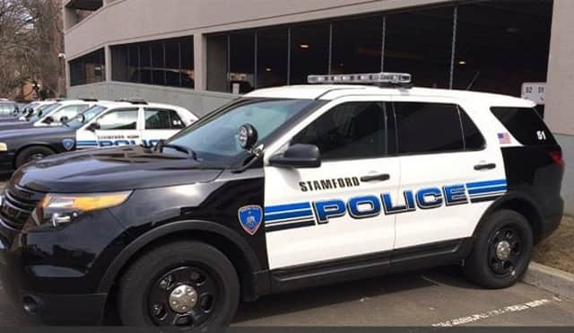 Stamford Police report a resident claims to have hit a would-be car burglar with a bat.