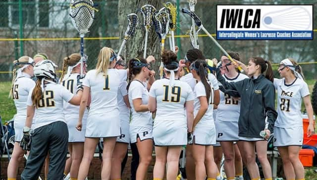 The Pace women's lacrosse team received academic honors this past season.