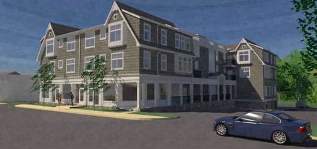 Architectural rendering of Cross Street Development.