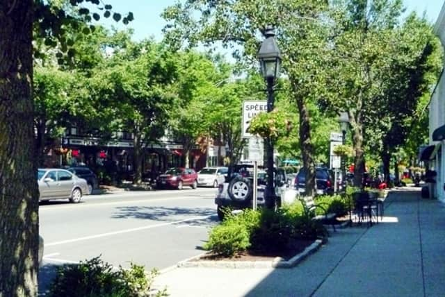 Main Street in Ridgefield will be the main site of the art walk.