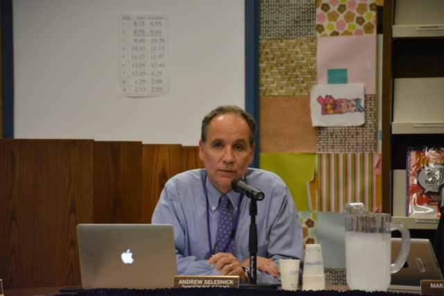 Katonah-Lewisboro Superintendent Andrew Selesnick.