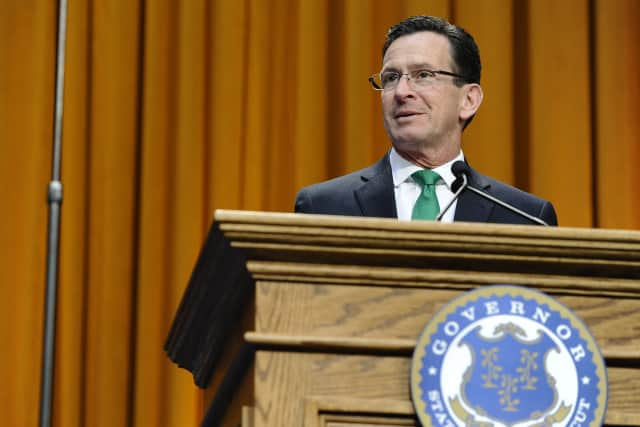 Governor Malloy announced the positive job report for Connecticut.