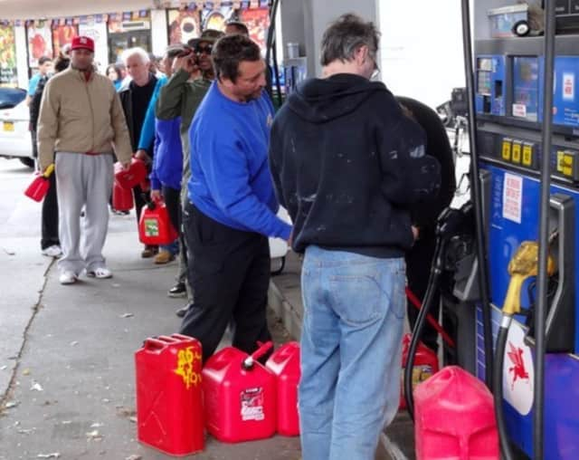The gas prices have been found for Mamaroneck and Larchmont.