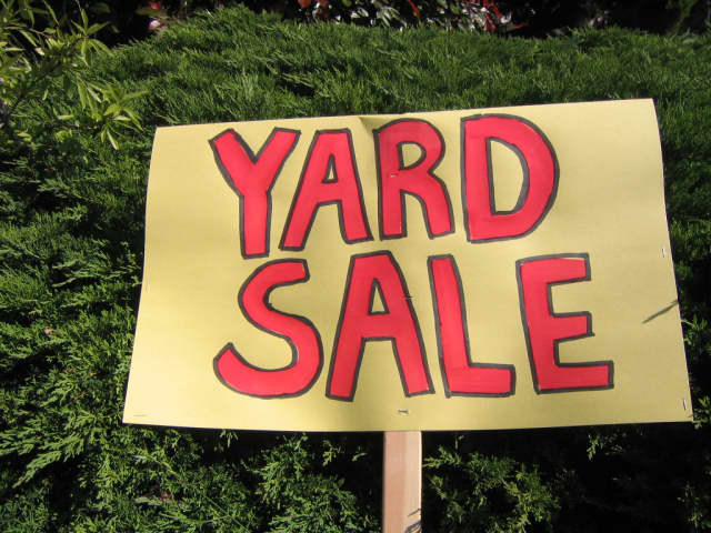 The Eastchester town yard sale will be held Sept. 20.