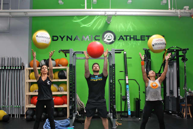Dynamic Athletics is an elite training facility located in the Goodwives Shopping Center at 25 Old Kings Highway North in Darien.