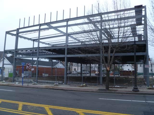 The new Walgreens building on Ashford Avenue in Dobbs Ferry.