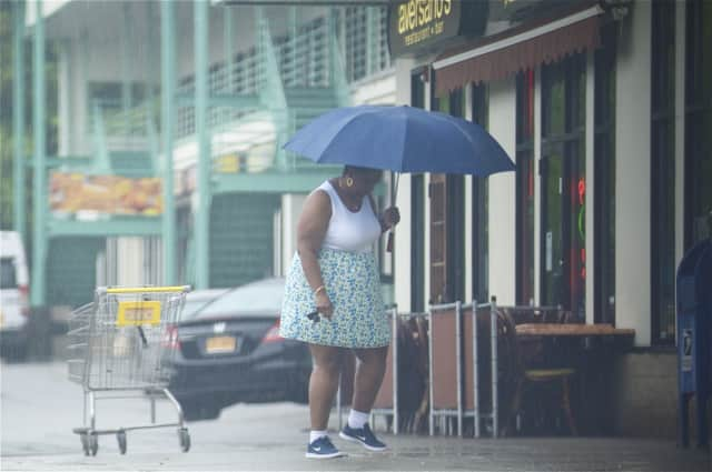 Westchester County residents can shed the heavy coats but will likely need their umbrellas on through Thursday, as the National Weather Service predicts storms in the area.
