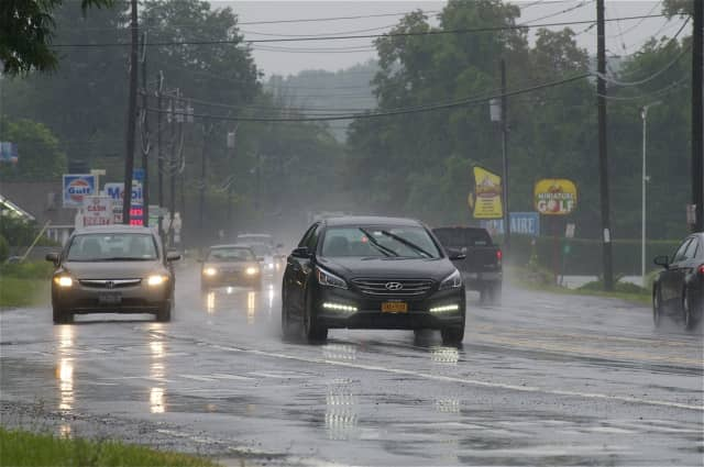 Drivers will need to be careful in Fairfield County on Sunday, as the National Weather Service is predicting rain in the area.