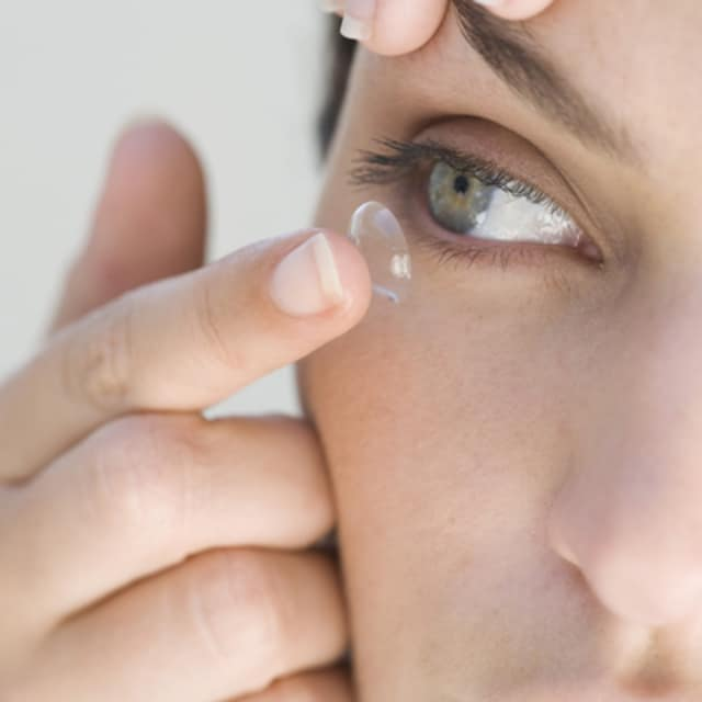 According to the Centers For Disease Control, the majority of contact lens wearers increase their risk of eye infection by engaging in certain behaviors.