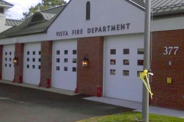 The Vista Fire Department responded to five calls last week, including a brush fire.