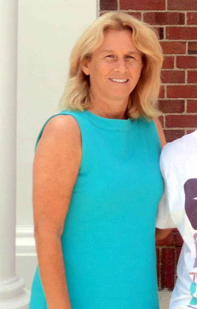 Pleasantville High School principal Dawn Bartz