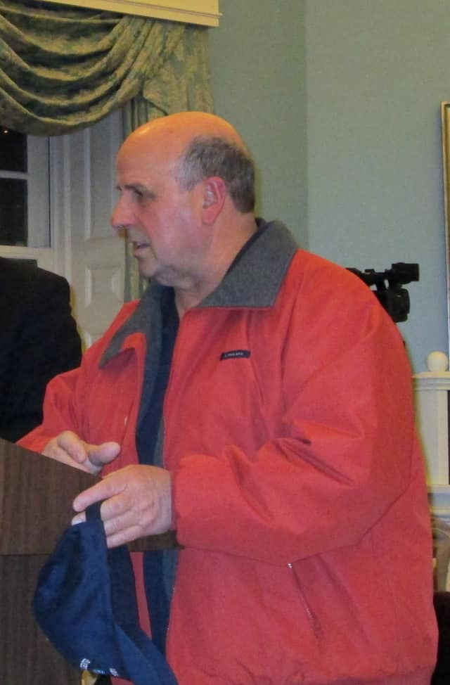 Don DiBona of Yonkers presented plans for a CrossFit gym Wednesday to the Bronxville Planning Board.
