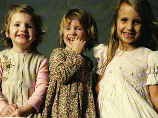 The Badger sisters, Lily and twins Sarah and Grace, died in a fire in their Stamford home on Christmas in 2011.