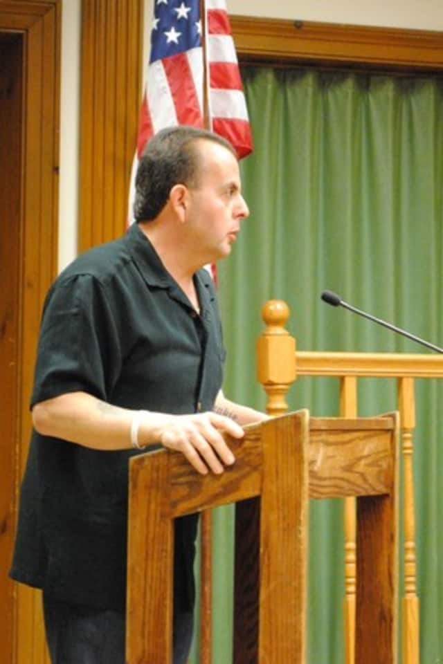 Eric DiBartolo, the former Yorktown highway superintendent, is facing felony charges.