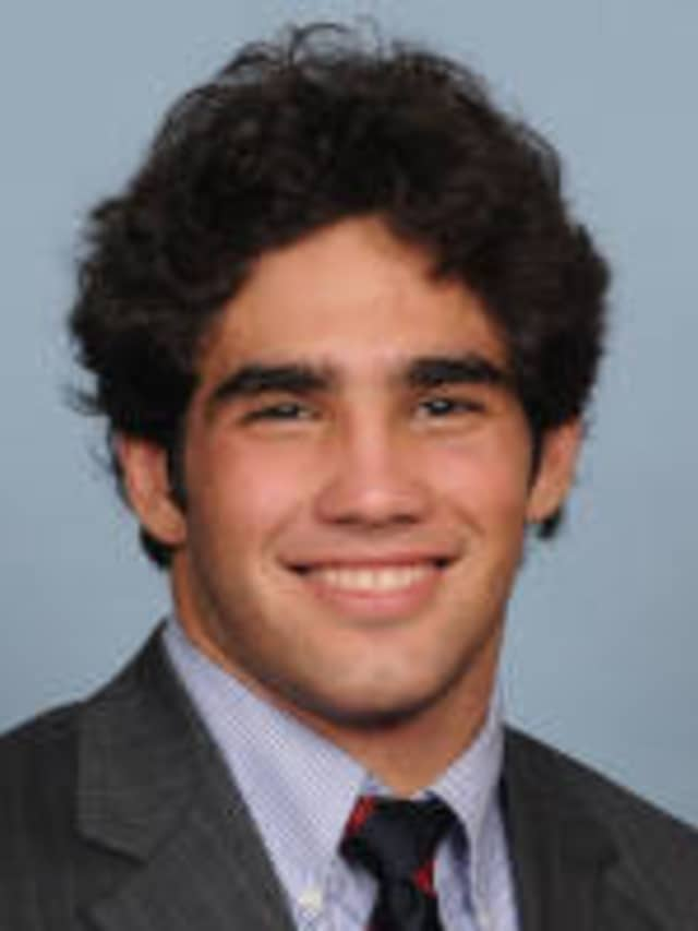 Senior Harrison Cook, a Fox Lane graduate, has returned to the University of Pennsylvania wrestling lineup after missing last year with an injury.