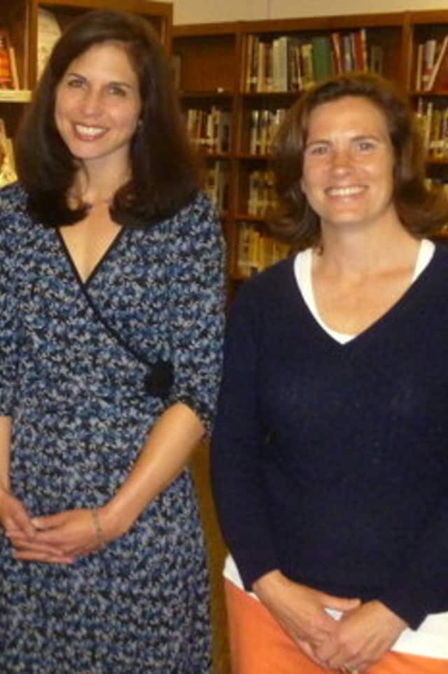 Marjorie Schiff, left, and Stephanie Tobin won seats on the Katonah-Lewisboro School Board in May.