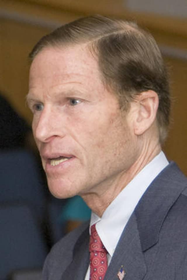 U.S. Sen. Richard Blumenthal is fighting for a name change for two offensively named buoys off the coast of Branford.