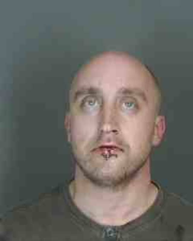 Photo Credit: Art Cusano John R. Stevenson, 32, of Scarsdale was arrested at 1 a.m. Dec.