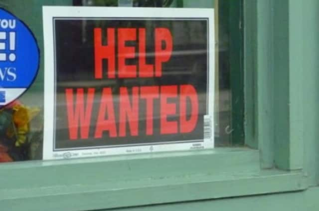 Job-seekers in Scarsdale should have no trouble this week.