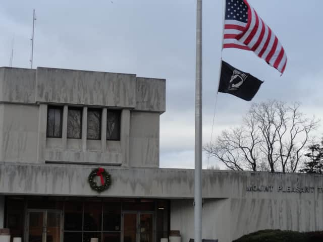 Mount Pleasant Town Hall in Valhalla will be open on Monday, but will close early for the holiday and will be closed on Christmas.