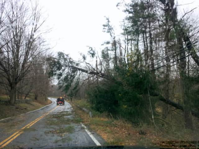 The wrath of Hurricane Sandy was one of the Top 10 stories in Lewisboro in 2012.
