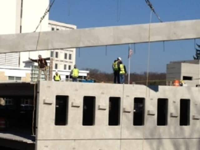 Northern Westchester Hospital began construction of its 450-spot parking garage late this year, after getting the go-ahead from the Mount Kisco Planning Board in March.