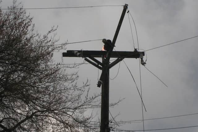Bedford town leaders are hoping that most of the power will be restored by early Friday afternoon.