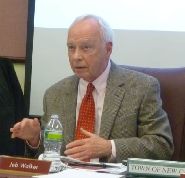 New Canaan officials investigated pension overpayments to former First Selectman Jeb Walker. The town will not pursue criminal charges and Walker has repaid the extra dollars he received.