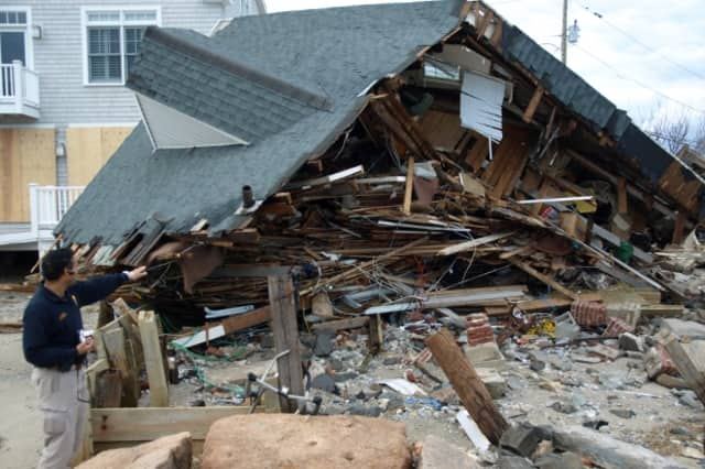 Fairfield County could get a big storm on Sunday, which is the five-year anniversary of Hurricane Sandy