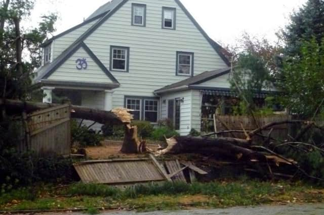 Hurricane Sandy blew through the Rivertowns in late October.