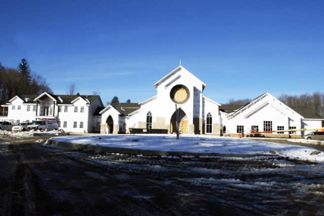 St. Joseph's Catholic Church, now in Croton Falls, will move to this new building in Somers in 2013.