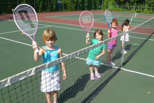 The Andrew Kim Foundation is sponsoring free tennis lessons for kids June 4.