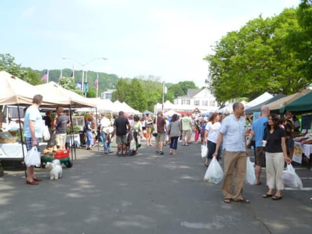 For the first time , the Pleasantville Farmers' Market will be moving inside this weekend.