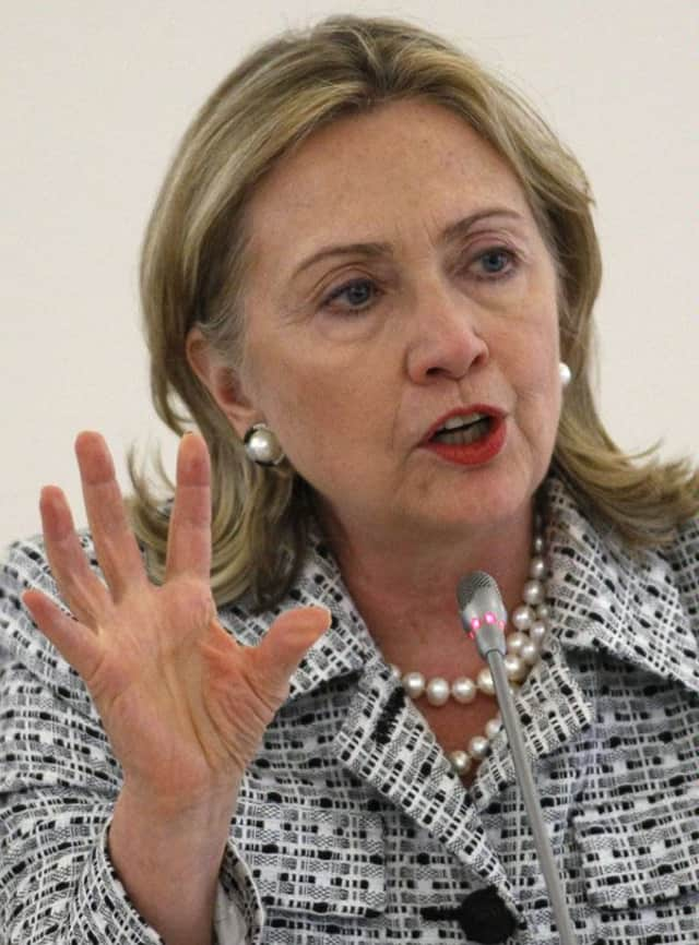 Secretary of State Hillary Clinton is recovering at New York-Presbyterian Hospital after doctors discovered a blood clot near her brain.