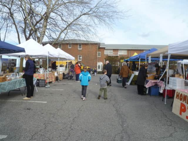 The Hastings Farmers Market moves indoors to the James Harmon Community Center on Saturdays during the winter.