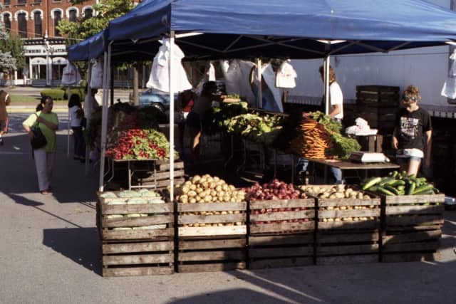 The Ossining Winter Farmers Market is one of the weekend's highlights.